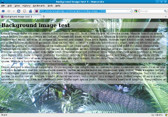 Screenshot of RGBA backgrounds Firefox